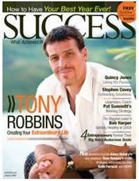 Success Magazine Article by Vic Johnson
