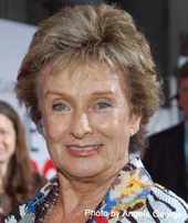 Cloris Leachman isn't too old to slow down